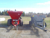 Lime Fertilizer Spreaders Stoltzfus -  2,4,5 and 8 Ton