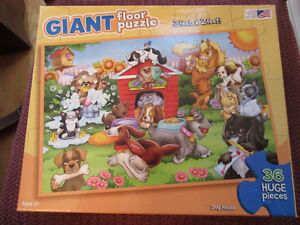 GIANT Floor puzzle - Dog House  Great for Daycares. Ages3+