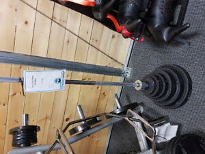 Olympic Bar and Weights Starter Set Sale!!