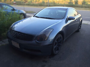 2005 Infiniti G35 Coupe (2 door) - PRICE REDUCED, NEED GONE