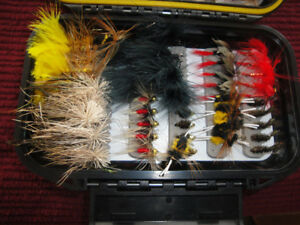 FISHING LURES DIFFERENT KITS AND FISHING FLIES BRANDNEW $30-45$