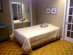 Chambre à louer Ste-Julie Bacchelor  SDB frigo et entrée privée