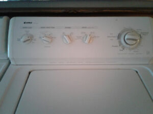Washer and Dryer heavy duty