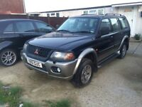 Mitsubishi Shogun Sport in very good condition quick sale!