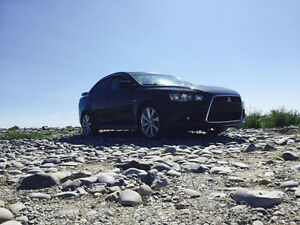 2014 Mitsubishi Lancer ralliart Sedan TRADE FOR TRUCK!!