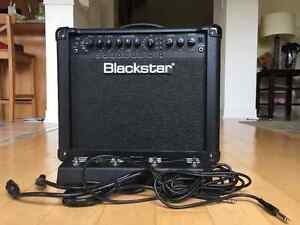 Blackstar ID 15 TVP Guitar Amp with multi-function foot pedal