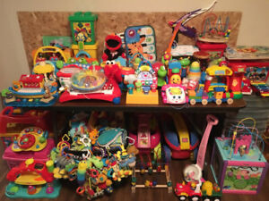 Massive TOY Collection  / for infants and toddlers 0-4 years