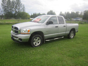 2006 Dodge 1500 4X4  TRACTOR AS PART TRADE