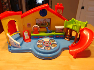 Little People and Vtech Playsets - 2 sets