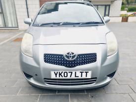 image for Toyota Yaris 1.3..low Miles..Long Mot 2021 no Advisory...SH £1375