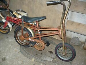 antique banana seat/chopper kids bike