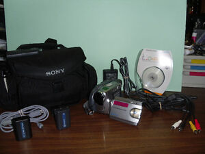 REDUCED PRICE Capture your fun!!! With this SONY DVD Handycam West Island Greater Montréal image 3