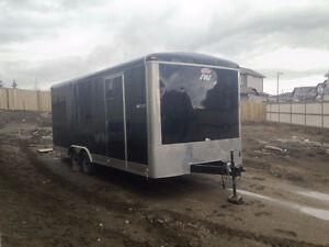 2015 8.5 x 20ft x 6.5ft Blazer Cargo Trailer