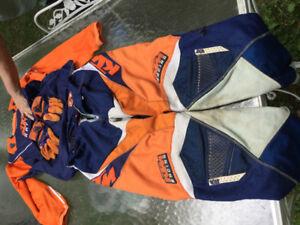Habit motocross complet Thor KTM.