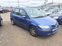2000/X Mazda Premacy 1.8 auto GSi LONG MOT LOW MILEAGE