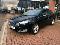 2017 Ford Focus 1.0 EcoBoost Titanium 5dr HATCHBACK Petrol Manual