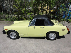 New Condition 1977 MG Migit convertable