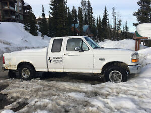 1996 Ford F-150 4X4 extra Cab -Mechanics Special