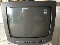 """TV Sanyo with remote 14"""""""