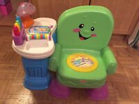 Fisher Price - laugh and learn chair