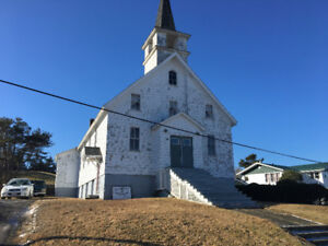 Church for sale -- Moser River, NS