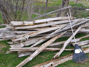 Driftwood Rails for Fencing, Crafts, or Garden Projects