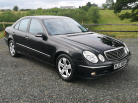 Mercedes E280 cdi diesel automatic avant-garde