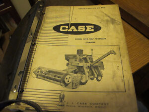 Case 1010, 1060, 1660 Combine Parts Manuals Regina Regina Area image 2