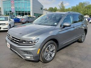 2018 Volkswagen Tiguan Highline / 4Motion / NAV