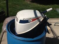 Evinrude 91/2 HP Outboard Motor