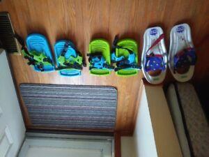 Kids Snowshoes Lot