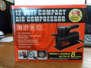 brand new 12V/150PSI Max compact air compressor