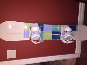 Woman's board , boots and bindings