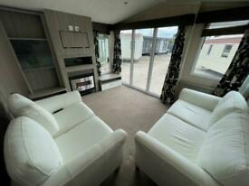 USED STATIC CARAVAN FOR SALE OFF SITE GREEN 35X12