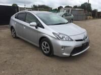 TOYOTA PRIUS 1.8 2012/61 PLATE AUTOMATIC + FREE WARRANTY