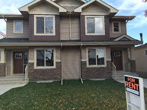 Beautiful1 yr old 1/2 Duplex Excellent Central Location Jan 1/17