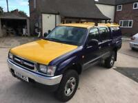 2000 Toyota Hilux MK4 2.4TD EX Double Cab - Full Service History - 47,735 Miles