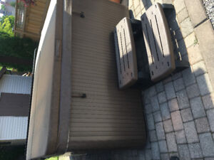 Beachcomber hot tub showroom condition priced to sell quick