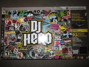 DJ Hero for PS3 in the box