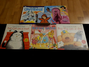 Books for kid plus puzzles etc