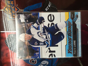 Patrick Laine young guns rookie card