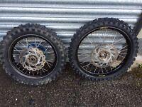 Rm 85 small wheels not KTM YZ KX