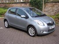 EXCELLENT VALUE !! 2007 TOYOTA YARIS 1.3 VVT-i TR 5dr,1 YEAR MOT, WARRANTY