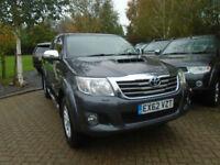2012 62 Reg Toyota HiLux 3.0 D-4D Invincible (NO VAT) 62000 Miles