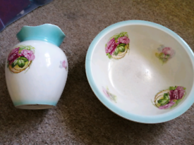 Jug and bowl set vintage