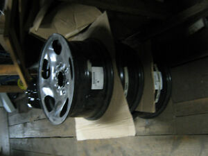 SELLING 3 NEW FULL SIZE SPARE RIMS 16X7