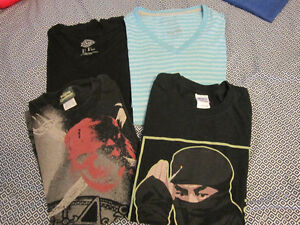 Lot of Size L (1XL) men's t-shirts