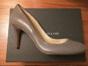 Ann Taylor Perfect Pump Leather Size 9 New