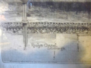 Original Etching of Roslyn Chapel, Edinburgh by Albany Howarth Stratford Kitchener Area image 6