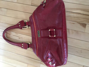 Purse Jimmy Choo red leather